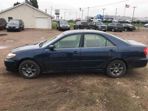 2002 Toyota Camry for sale at BLAESER AUTO LLC in Chippewa Falls WI
