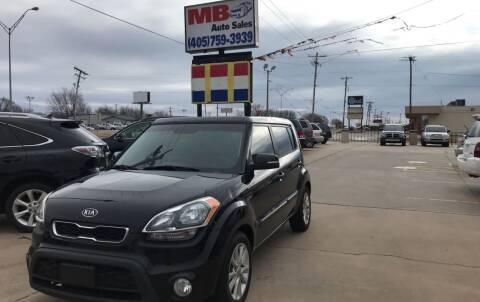2012 Kia Soul for sale at MB Auto Sales in Oklahoma City OK