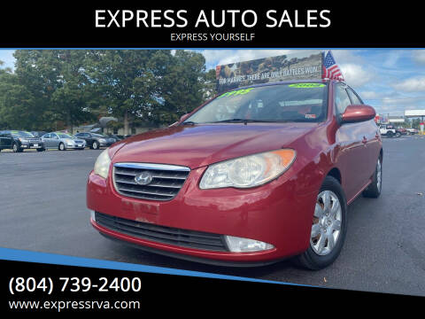 2008 Hyundai Elantra for sale at EXPRESS AUTO SALES in Midlothian VA