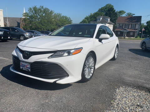 2018 Toyota Camry for sale at 1NCE DRIVEN in Easton PA