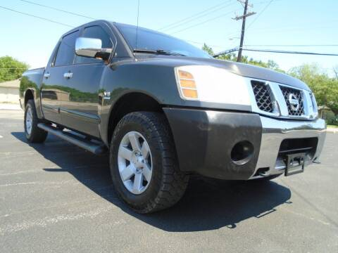 2004 Nissan Titan for sale at Thornhill Motor Company in Lake Worth TX