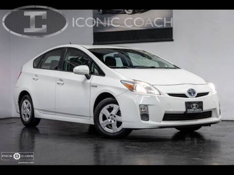 2010 Toyota Prius for sale at Iconic Coach in San Diego CA