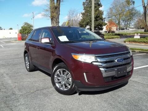 2011 Ford Edge for sale at CORTEZ AUTO SALES INC in Marietta GA