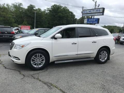 2013 Buick Enclave for sale at M G Motors in Johnston RI