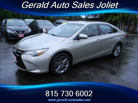 2017 Toyota Camry for sale at Gerald Auto Sales in Joliet IL
