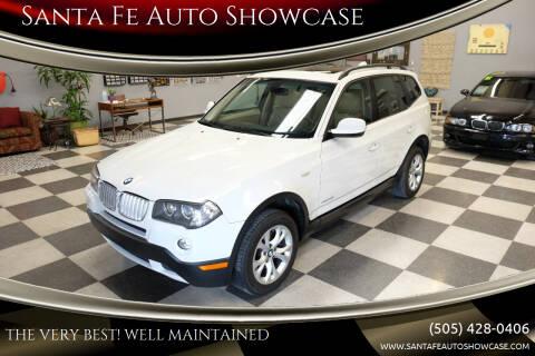 2010 BMW X3 for sale at Santa Fe Auto Showcase in Santa Fe NM
