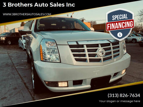 2011 Cadillac Escalade for sale at 3 Brothers Auto Sales Inc in Detroit MI
