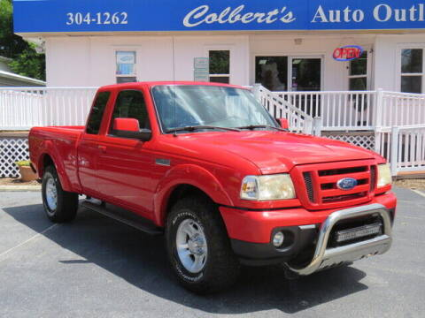 2011 Ford Ranger for sale at Colbert's Auto Outlet in Hickory NC