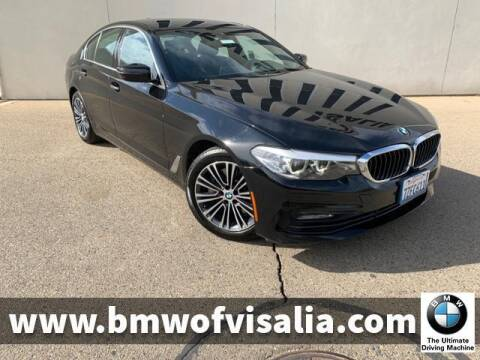 2017 BMW 5 Series for sale at BMW OF VISALIA in Visalia CA