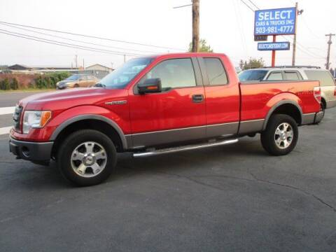 2009 Ford F-150 for sale at Select Cars & Trucks Inc in Hubbard OR
