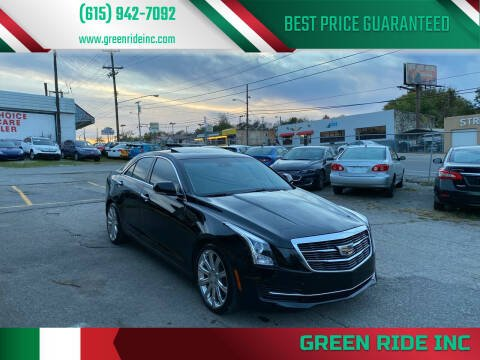2016 Cadillac ATS for sale at Green Ride Inc in Nashville TN