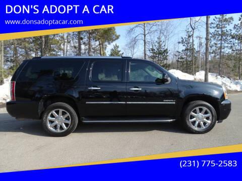 2013 GMC Yukon XL for sale at DON'S ADOPT A CAR in Cadillac MI