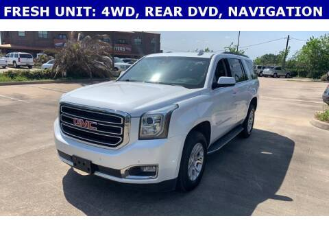 2016 GMC Yukon for sale at STANLEY FORD ANDREWS in Andrews TX