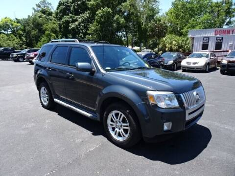 2010 Mercury Mariner for sale at DONNY MILLS AUTO SALES in Largo FL