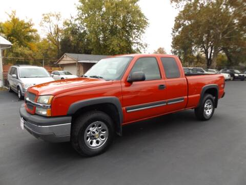 2005 Chevrolet Silverado 1500 for sale at Goodman Auto Sales in Lima OH