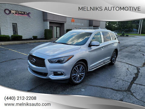 2019 Infiniti QX60 for sale at Melniks Automotive in Berea OH