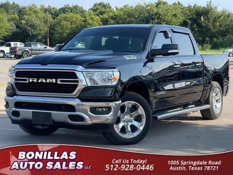 2020 RAM Ram Pickup 1500 for sale at Bonillas Auto Sales in Austin TX