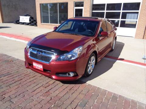 2013 Subaru Legacy for sale at Rediger Automotive in Milford NE