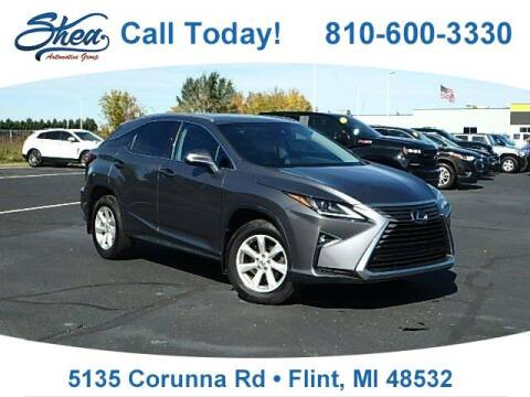 2017 Lexus RX 350 for sale at Jamie Sells Cars 810 - Linden Location in Flint MI