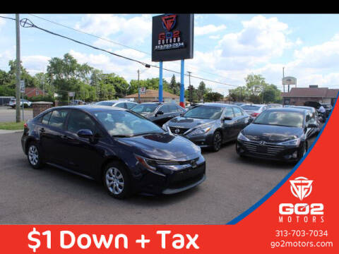 2020 Toyota Corolla for sale at Go2Motors in Redford MI