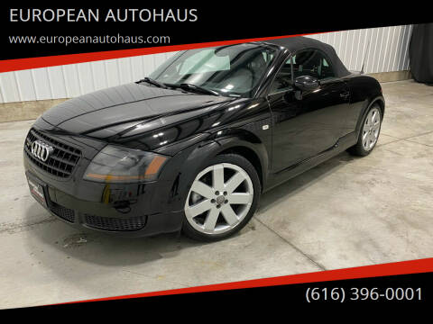 2003 Audi TT for sale at EUROPEAN AUTOHAUS in Holland MI