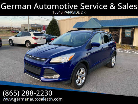 2014 Ford Escape for sale at German Automotive Service & Sales in Knoxville TN
