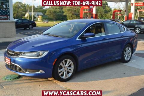 2016 Chrysler 200 for sale at Your Choice Autos - Crestwood in Crestwood IL