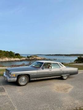 1976 Cadillac DeVille for sale at Classic Car Deals in Cadillac MI