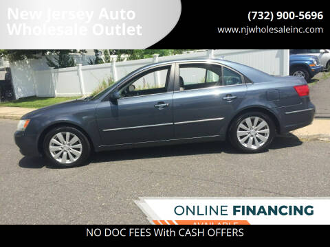 2009 Hyundai Sonata for sale at New Jersey Auto Wholesale Outlet in Union Beach NJ