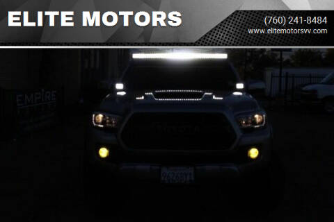 2016 Toyota Tacoma for sale at ELITE MOTORS in Victorville CA