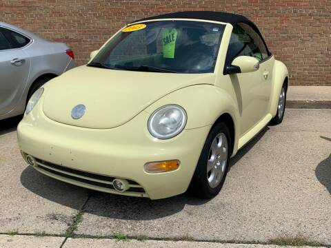 2003 Volkswagen New Beetle Convertible for sale at Cars To Go in Lafayette IN