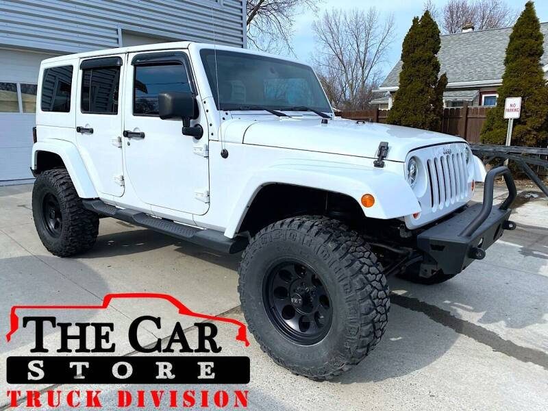 2012 Jeep Wrangler Unlimited for sale at The Car Store Inc in Albany NY