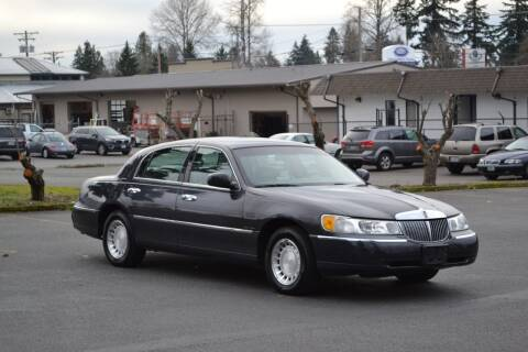 2002 Lincoln Town Car for sale at Skyline Motors Auto Sales in Tacoma WA