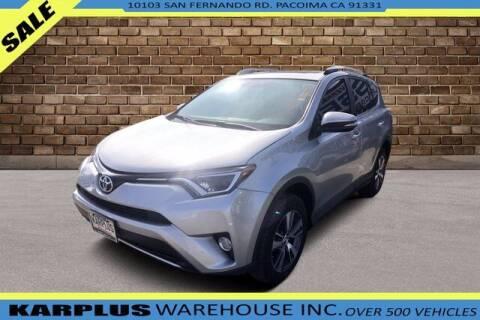 2016 Toyota RAV4 for sale at Karplus Warehouse in Pacoima CA