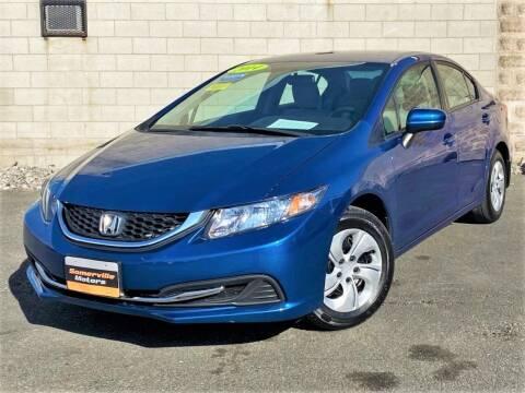 2014 Honda Civic for sale at Somerville Motors in Somerville MA
