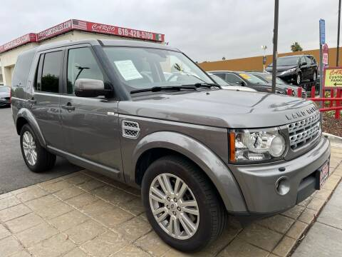 2011 Land Rover LR4 for sale at CARCO SALES & FINANCE #3 in Chula Vista CA