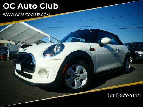 2019 MINI Convertible for sale at OC Auto Club in Midway City CA