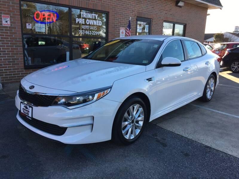 2017 Kia Optima for sale at Bankruptcy Car Financing in Norfolk VA
