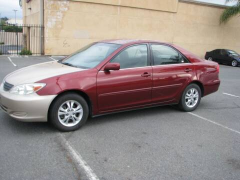 2004 Toyota Camry for sale at M&N Auto Service & Sales in El Cajon CA