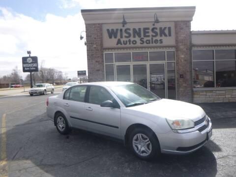 2004 Chevrolet Malibu for sale at Wisneski Auto Sales, Inc. in Green Bay WI