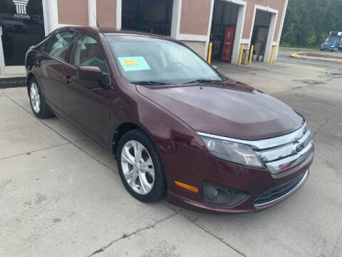 2012 Ford Fusion for sale at Adams Auto Group Inc. in Charlotte NC
