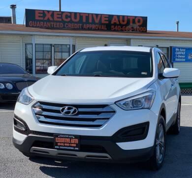 2014 Hyundai Santa Fe Sport for sale at Executive Auto in Winchester VA