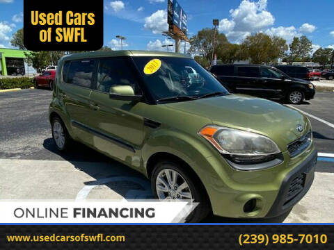 2013 Kia Soul for sale at Used Cars of SWFL in Fort Myers FL