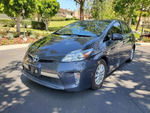2014 Toyota Prius Plug-in Hybrid for sale at E MOTORCARS in Fullerton CA
