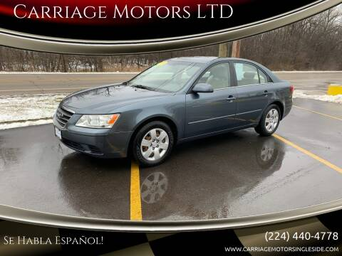 2009 Hyundai Sonata for sale at Carriage Motors LTD in Ingleside IL