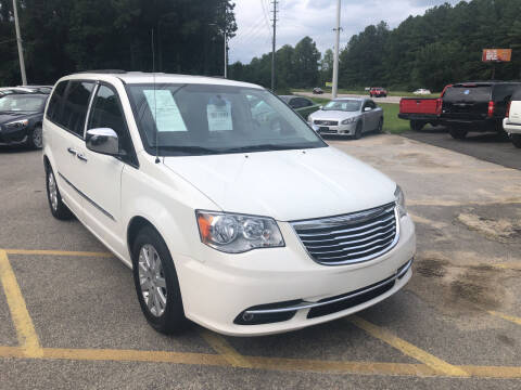 2012 Chrysler Town and Country for sale at Galaxy Auto Sale in Fuquay Varina NC