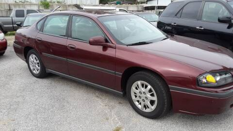 2002 Chevrolet Impala for sale at BBC Motors INC in Fenton MO