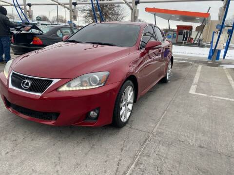 2012 Lexus IS 250 for sale at Xtreme Auto Mart LLC in Kansas City MO