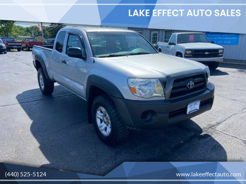 2008 Toyota Tacoma for sale at Lake Effect Auto Sales in Chardon OH