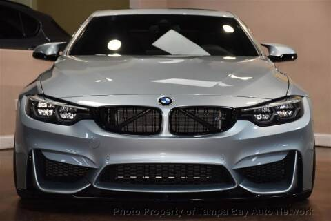 2018 BMW M4 for sale at Tampa Bay AutoNetwork in Tampa FL